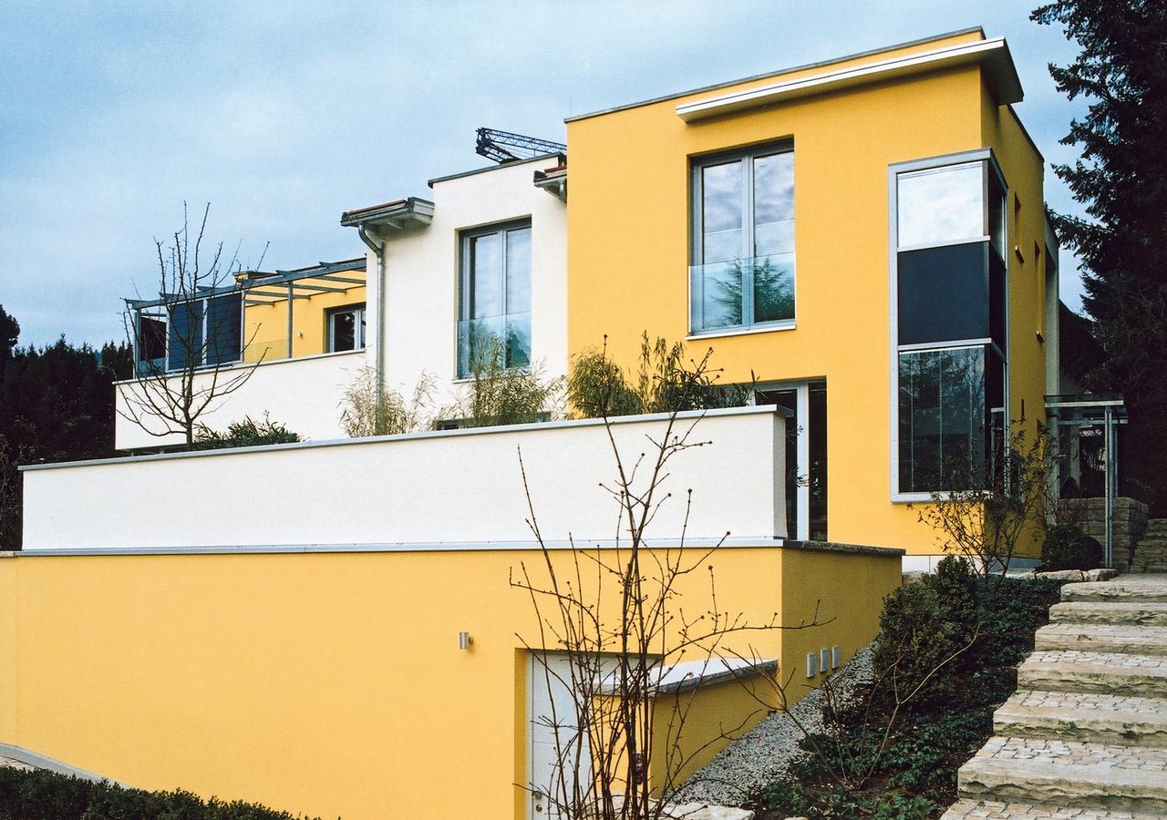 Fassade modern gestalten  So gestalten Sie Ihre Traumfassade - Farben Müller